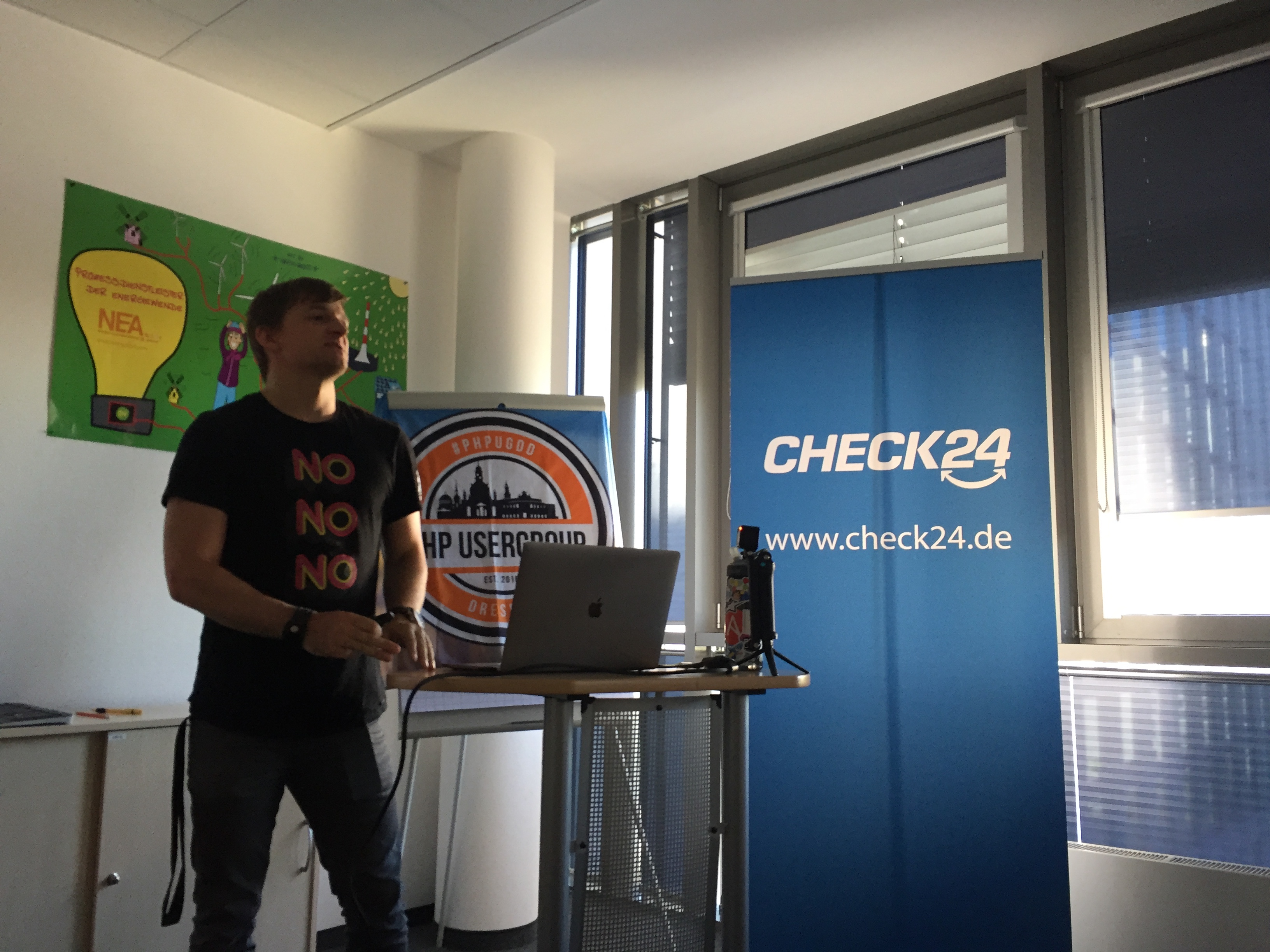 Meetup bei Check24 in Dresden